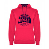 Sudadera Warrior Woman Legend Roseton-Morado